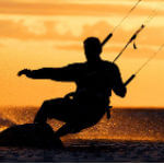 Kiteboarding on the Pamlico Sound